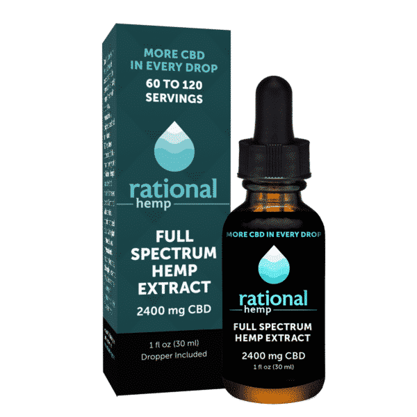 Rational Hemp 2400 mg Full Spectrum CBD Oil